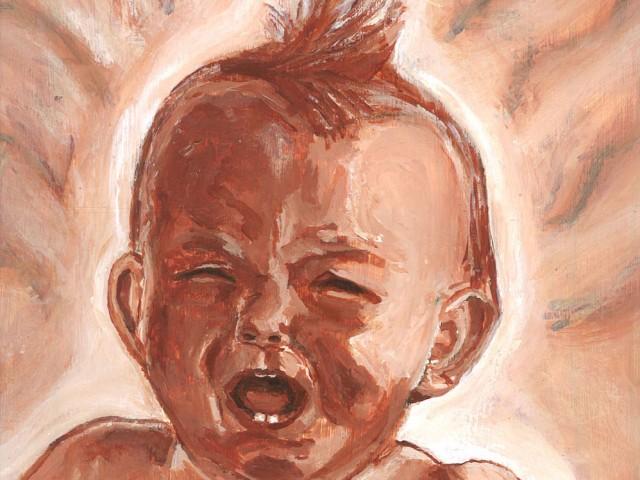 Bébé colérique