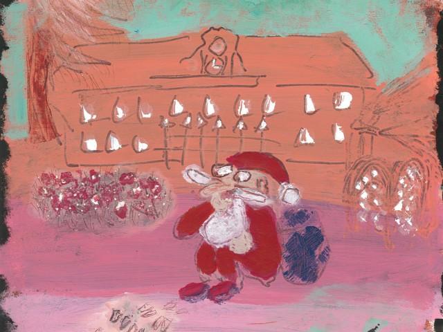 Le Père Noël a perdu ses rennes