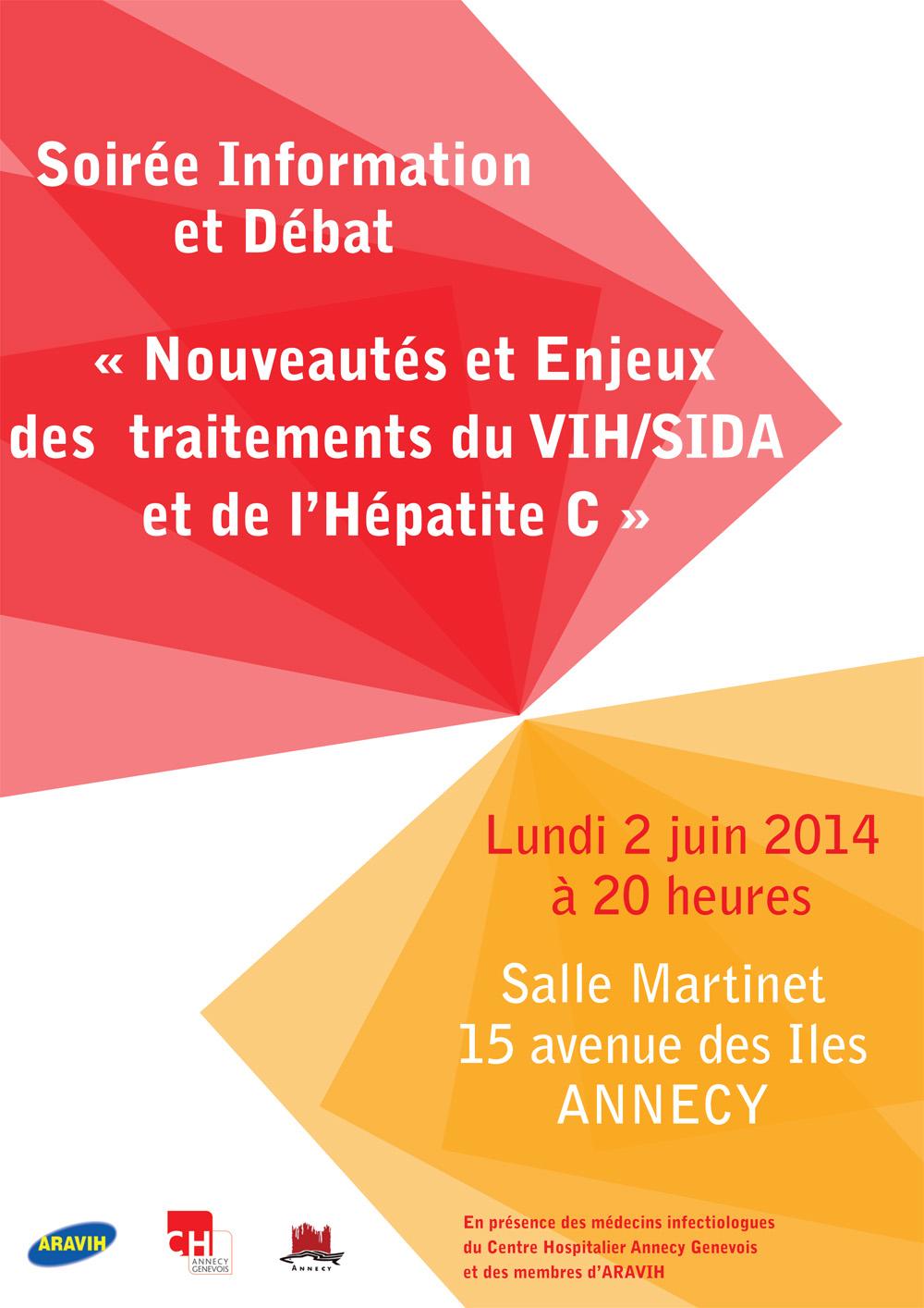 Soirée info SIDA 2014
